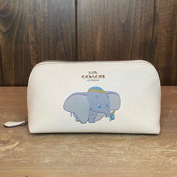 Coach Handbags - NWT Authentic Disney X Coach Dumbo Cosmetic Case
